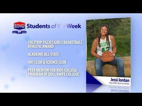 Students of the Week: Jessi Jordan and James Craig of Colstrip High School