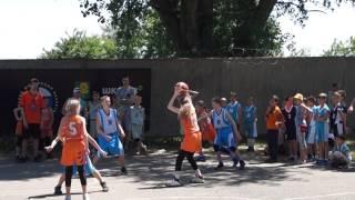 Пермь (дев.) - Мурманск (мал.), г.Ейск, стритбол 3х3, 12.06.2017