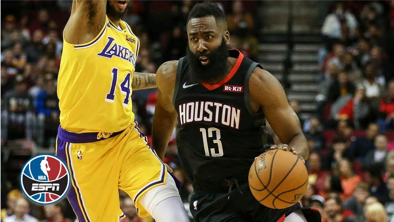 0e1485443de8 03 17 James Harden goes off for 48 points in Rockets  OT win vs. Lakers