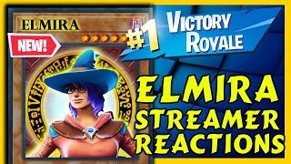 FORTNITE ELMIRA SKIN REACTIONS! & Ghost Ayden wins first game with Symfuhny!