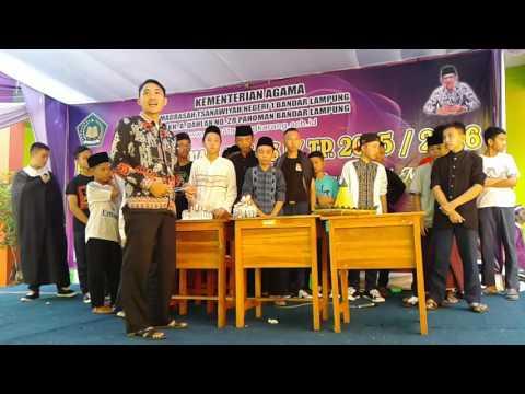 Pelepasan Siswa Kelas IX MTsN 1 Bandar Lampung 20160518 055838