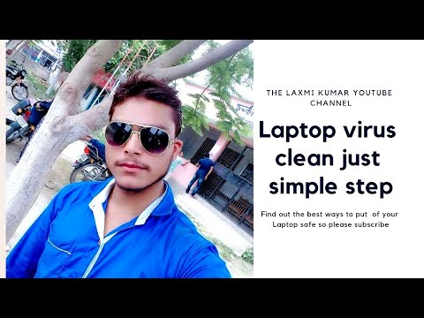 how to clean your Laptop/pc virus in all windows in hindi| Lax-jee