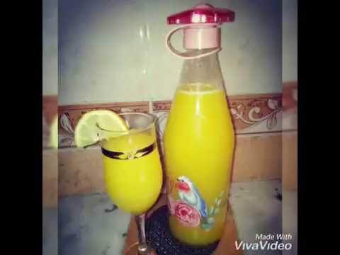 jus-d'orange-et-citron..-recette-facile-a-faire