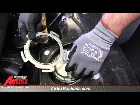 how to install   replace a fuel pump assembly back s 2008 nissan frontier fuel filter location