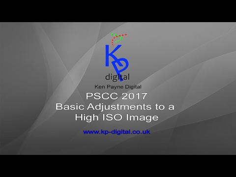 PSCC 2017 Processing a High ISO Image