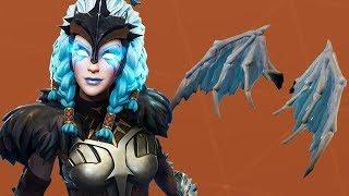 ???? Fortnite Dziewica na smoku Valkyrie , Ice dragon #NAŻYWO - Na żywo