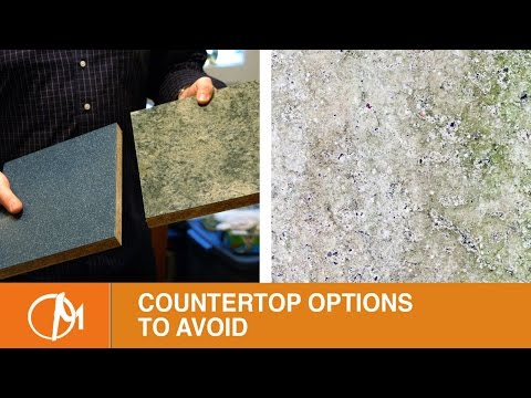 Countertop Options to Avoid