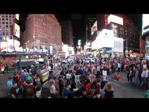 360 degrees - Times Square by Night, Broadway, Manhattan, New York, USA - 360 2691 Stitch XHC