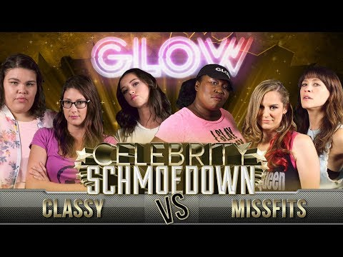 The Ladies of Netflix's GLOW Compete in the Movie Trivia Celebrity Schmoedown