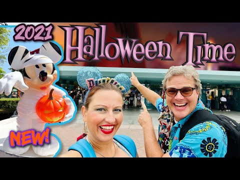 HalloweenTime Opening Day 2021 at Disneyland - NEW Food, Galaxy's Edge, CarsLand, Bootstrappers