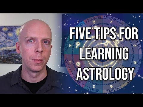 Five Tips for Learning Astrology for Beginners