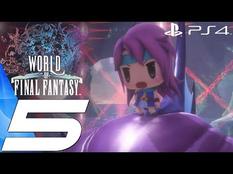 World of Final Fantasy (PS4) - Gameplay Walkthrough Part 5 - Faris Boss Fight & Meeting Quistis