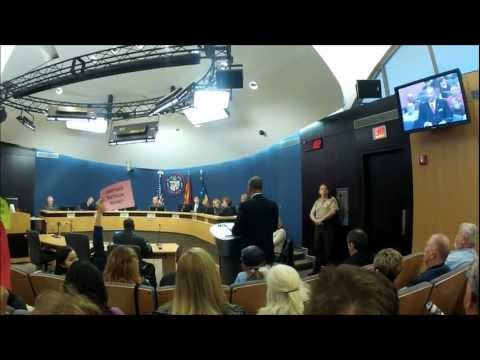 Citizens for a Better Arizona at the Phoenix Board of Supervisors meeting 1-25-12.wmv