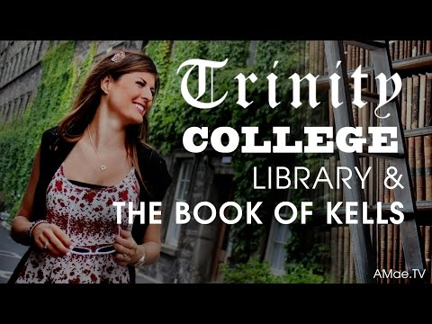 Trinity College Library & The Book Of Kells: Dublin Ireland Travel Video