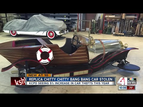 Replica 'Chitty Chitty Bang Bag' car stolen from Kansas City costume store