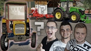 """Remont 30'stki ?  """"od Zera do Farmera"""" #132 FS19 ✔ Nowy Zakup - Siew Poplonu & Wycinka Drzewa ✔"""