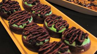 Duelling Donuts 2015 - Mint Brownie Cheesecake
