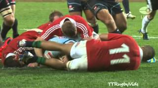 British and Irish Lions vs Waratahs 2013