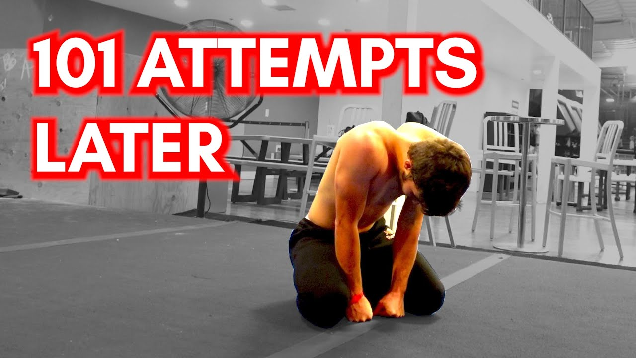 Watch Me Have a Mental Breakdown Attempting this Line 101 Times | Parkour and Freerunning