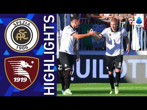 Spezia Salernitana Goals And Highlights