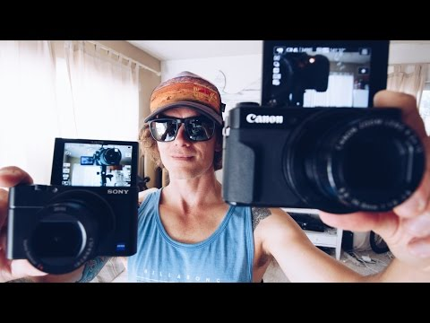 Thumbnail: Best Vlogging Camera 2016 - Canon g7xii vs Sony rx100iv - Best youtube camera