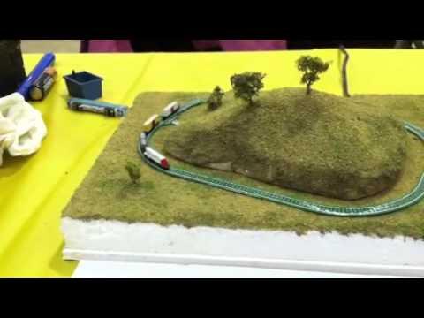 Nano model Railroad at the Granite City Train Show