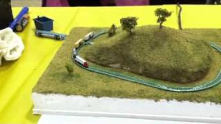 Nano model Railroad at the Granite City Train Show