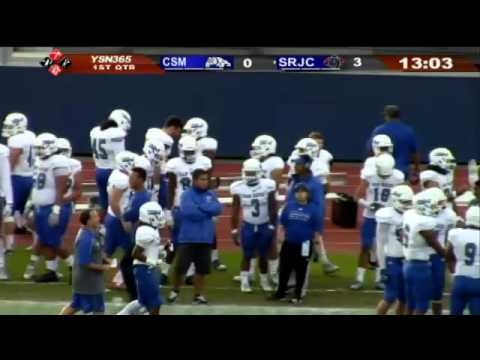 Full Game: College of San Mateo vs SRJC-1st Half