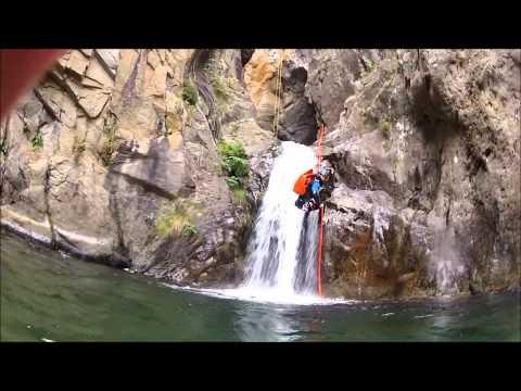 Canyoning Guide de Pyrénées Catalanes.wmv