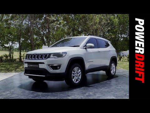 First look of the Jeep Compass in India : PowerDrift