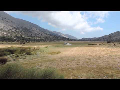 Remote Mountain Plateau in Eastern Crete