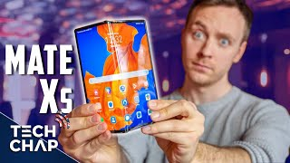 Huawei Mate XS Hands On Review - The Best FOLDING Phone? | The Tech Chap