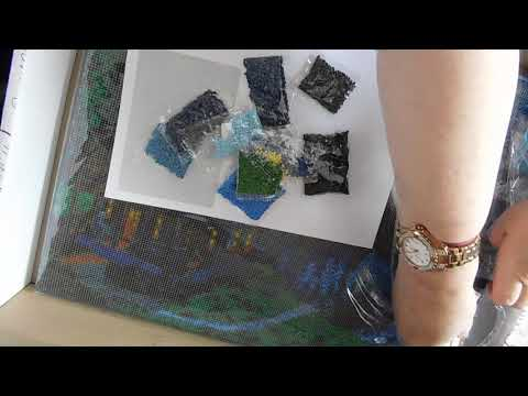 Unboxing - Forest Cabin Diamond Painting from DIY Crystal Art Kit by Craft Buddy Ltd