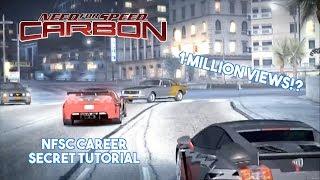 1 Million Views!? - NFSC Career Secret Tutorial
