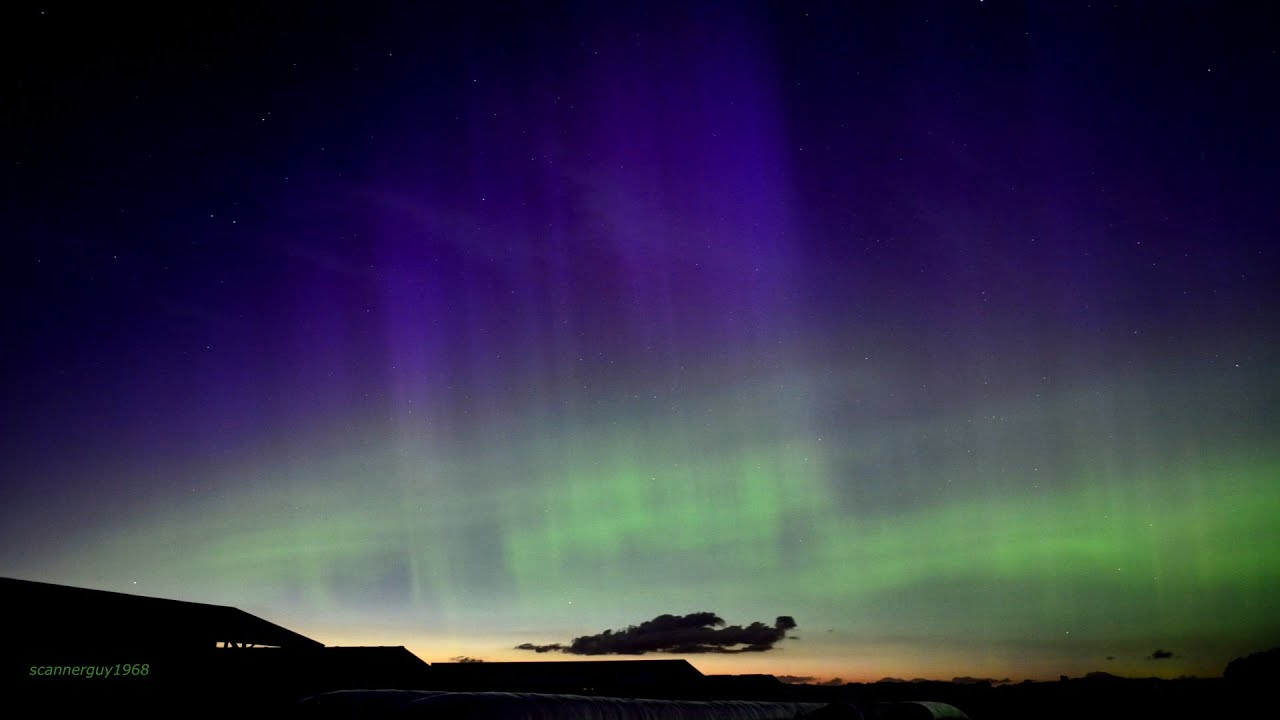 how to make aurora borealis coating
