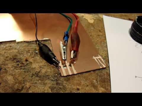testing a big batch of small signal transistors