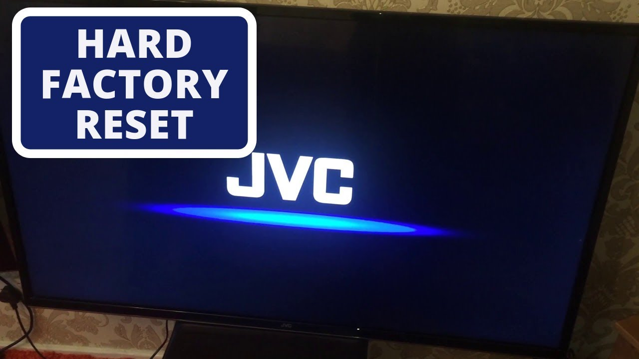 How to Reset JVC Smart TV to Factory Settings || Hard Reset a JVC TV
