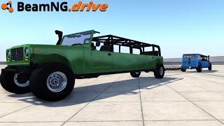 BeamNG.drive - LIMO TUG OF WAR