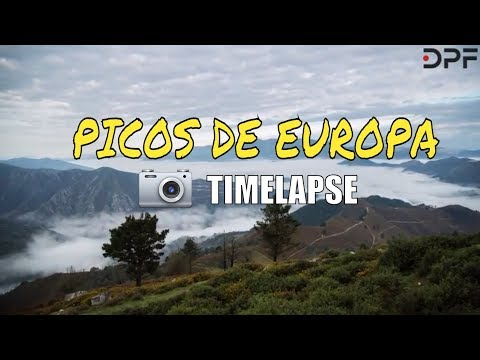 Picos de Europa  Timelapse (travel video)