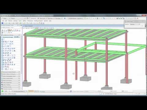 2. Structural Design in AECOsim Building Designer