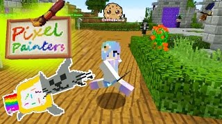 Minecraft Pixel Painters & Super Paint Ball Cookieswirlc Let's Play Online Game Video(, 2016-08-22T22:33:33.000Z)