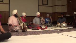 Prof Surinder Singh U OF M raag majh sikh rabab saranda and Taus 2 (Barah Maha)