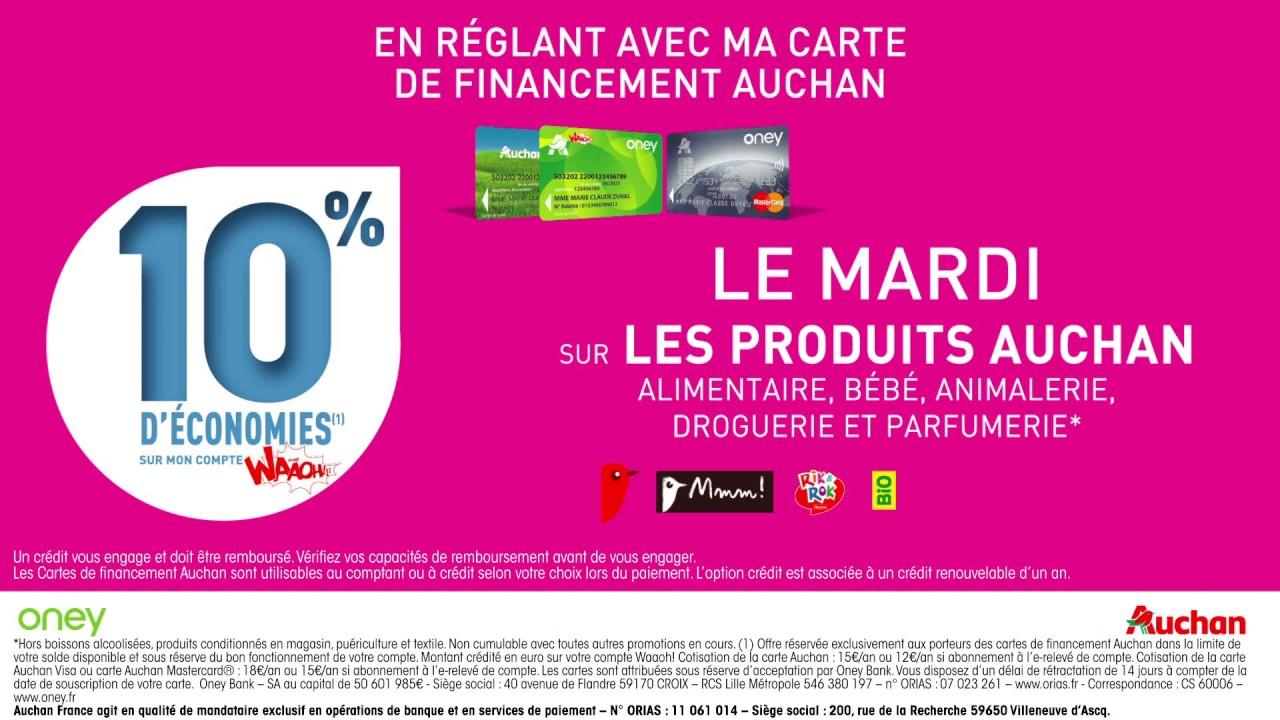 Carte Auchan Retail.Retail Media Oney Banque Banque D Auchan