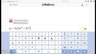 Aplicación Mathway