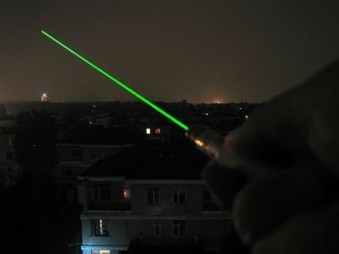 Unboxing the 5mW Green Laser Pointer Pen