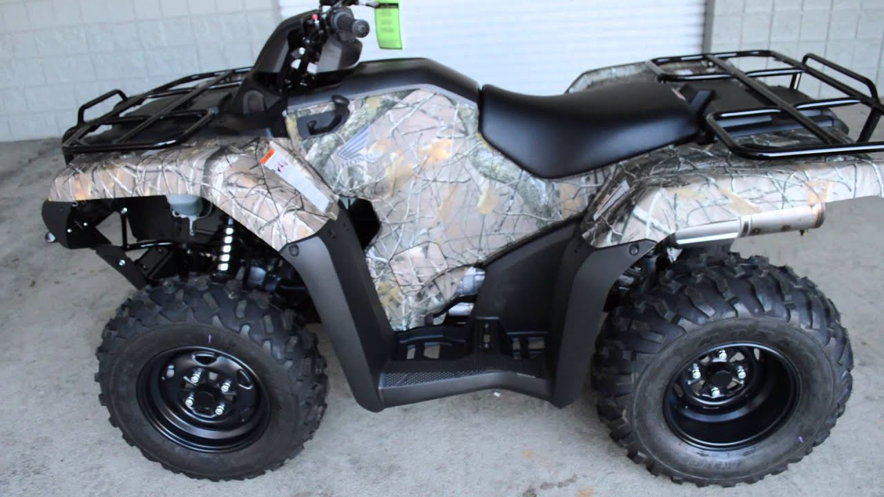 2014 TRX420FM Rancher Camo 4 Wheeler SALE / Honda Of Chattanooga TN ATV  Dealer   YouTube