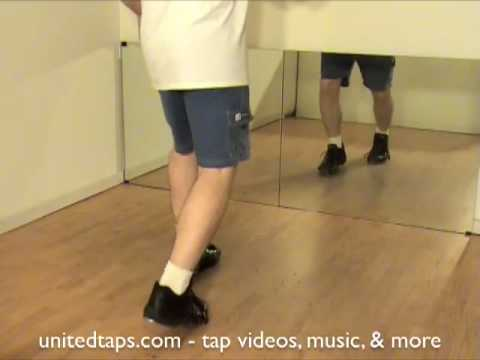 Single Time Step (Traditional) Tap Dance Move Shown by Rod ...