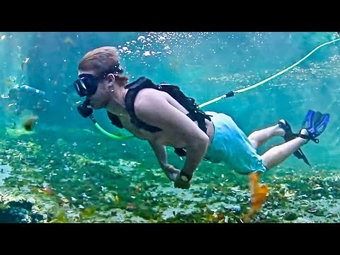 Scuba Dive Without Tanks - New Portable Light Weight System