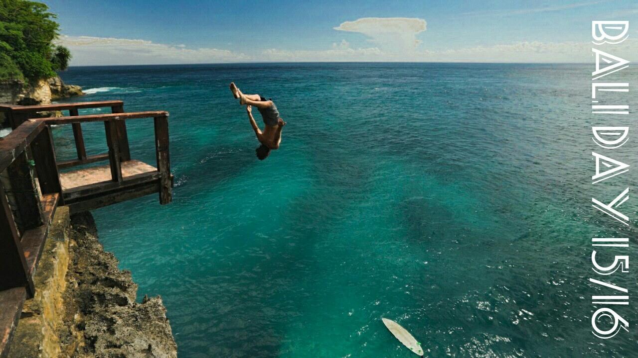 Cliff Jumping In Nusa Lembongan Youtube