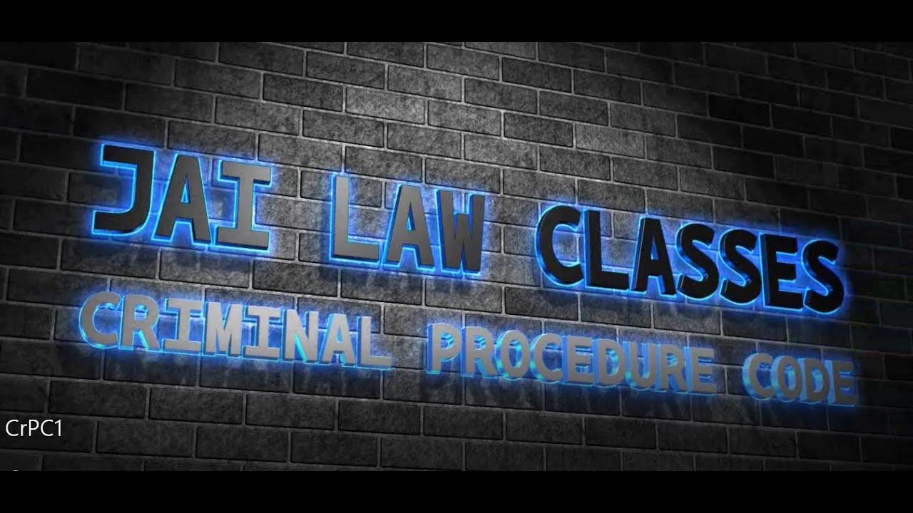 Pakistan criminal procedure pdf code